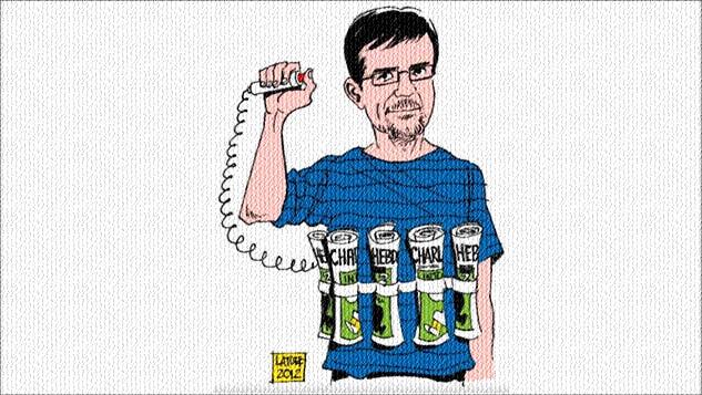 Peygamberimize hakaret eden karikatür ifade özgürlüğü mü yoksa kültürel terörizm mi? width=